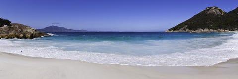 пляж сценарный стоковое изображение