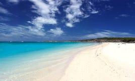 пляж сценарный Стоковая Фотография RF