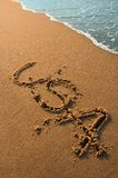 пляж США Стоковое Изображение RF