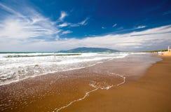 пляж Тоскана Стоковые Фото