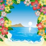 пляж тропический бесплатная иллюстрация