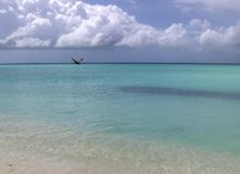 пляж тропический Стоковое Изображение RF