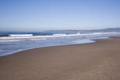 пляж угла широкий Стоковое фото RF