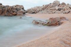 пляж утесистый Стоковое Изображение RF