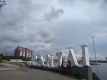 Пляж утечки Losari Стоковое Изображение
