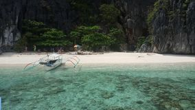 Пляж Филиппины стоковое фото