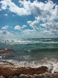 Пляж Флорида Майами южный стоковая фотография