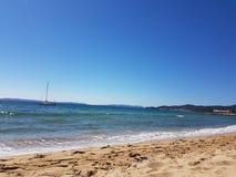 Пляж Франции Стоковое Изображение RF