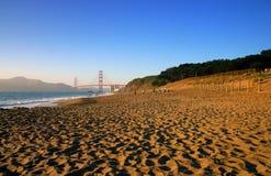 Пляж хлебопека, Сан-Франциско Стоковая Фотография RF