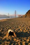 Пляж хлебопека, Сан-Франциско стоковое изображение rf