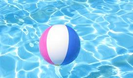 пляж шарика цветастый Стоковые Фотографии RF