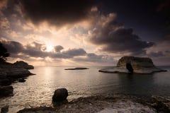 пляж Швеция Стоковая Фотография RF