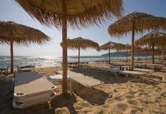 пляж штанги Стоковые Изображения