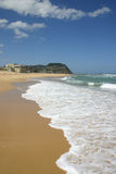 пляж штанги Стоковое фото RF