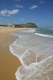 пляж штанги newcastle Стоковое Изображение RF