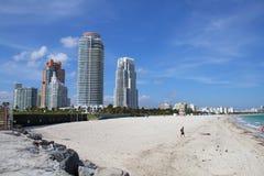 пляж южный стоковые изображения rf