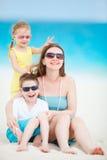 пляж ягнится мать Стоковая Фотография