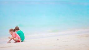 пляж ягнится 2 Стоковое Изображение