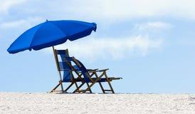 пляж 2 пустой Стоковое Фото