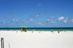 пляж 2 южный стоковая фотография