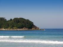 пляж 2 стоковая фотография rf