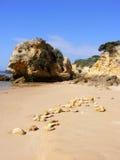 пляж 2 algarve красивейший Стоковое фото RF