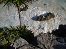 Пляж #2 Tulum Стоковая Фотография