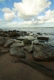 пляж 3 Стоковое Изображение
