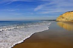 пляж 4 algarve Стоковое Фото