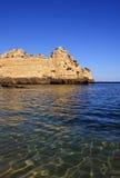пляж 7 algarve Стоковая Фотография RF