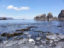 Пляж Abercrombie форта стоковое изображение rf