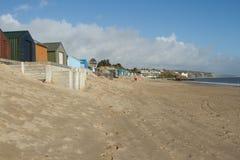 пляж abersoch Стоковое Фото