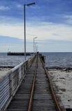 пляж adelaide стоковое изображение