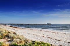 пляж adelaide стоковые изображения