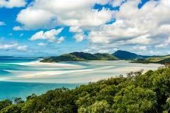 Пляж Airlie Whitsundays стоковые изображения