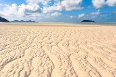 Пляж Airlie Whitsundays стоковое изображение rf