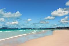 Пляж Airlie Whitsundays стоковые фотографии rf