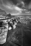 пляж algarve Стоковая Фотография RF