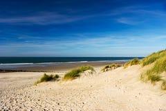 пляж ameland Стоковое Изображение