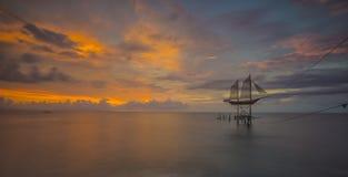 Пляж Ampenan стоковые фотографии rf