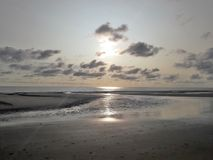 Пляж Amrum стоковое изображение