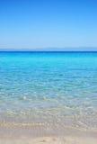 пляж armenistis Стоковое Фото