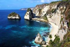 Пляж Atuh Стоковое Фото