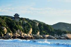 Пляж BaiBuSha горы Putuo Стоковые Изображения