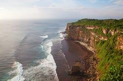 пляж bali утесистый Стоковая Фотография