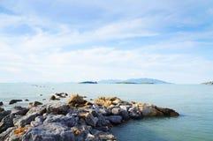 Пляж Bangrak, Samui, Таиланд Стоковое Изображение RF