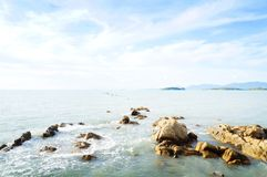 Пляж Bangrak, Samui, Таиланд Стоковые Изображения