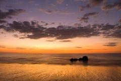 пляж bangsak Стоковое Фото