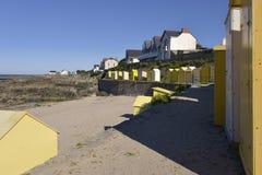 Пляж Batz-sur-Mer в Франции Стоковое Изображение