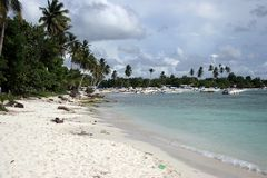пляж bayahibe Стоковое Фото